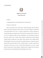 N. 1493 /2013 RG TRIBUNALE DI MASSA Sezione