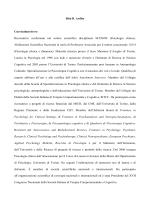 Rita B. Ardito Curriculum breve Ricercatrice