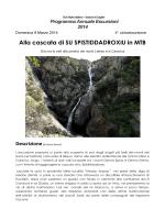 Alla cascata di SU SPISTIDDADROXIU in MTB