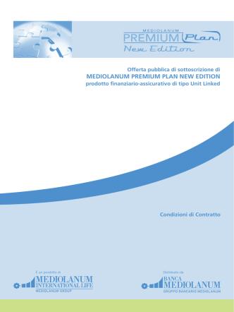 Condizioni di Contratto - Mediolanum International Life