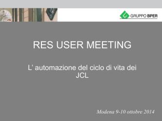 BPER: Automazione JCL