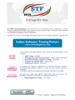 Italian Software Testing Forum