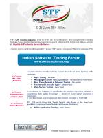 Italian Software Testing Forum