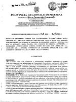 D.D. 717 N 548 - Provincia Regionale di Messina