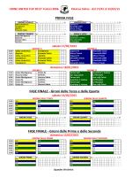 Torneo UU 2015_Calendario