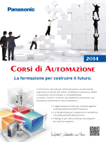 Flyer corsi di formazione (PDF) - Panasonic Electric Works Italia srl