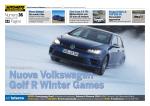 Nuova Volkswagen Golf R Winter Games