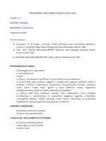 PROGRAMMA FINALE ANNO SCOLASTICO 2013