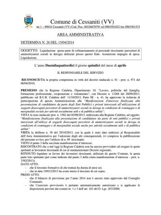 Comune di Cessaniti (VV)