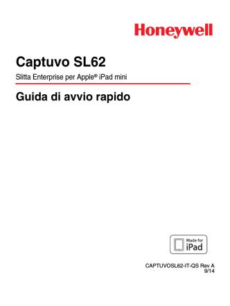 Captuvo SL62 Quick Start Guide