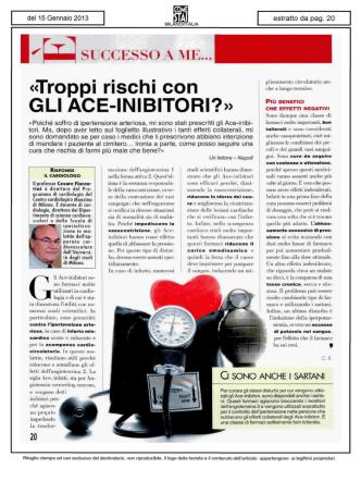 Articolo - Centro Cardiologico Monzino