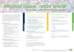 PV CYCLE Update - WEEE Special