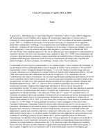 Corte di Cassazione, 15 aprile 2014, n. 8804 Fatto Il geom. R.T.