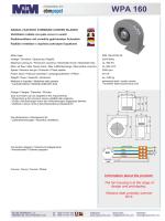 Catalog - Fan WPA 160 - MplusM