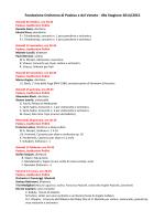 OPV Stagione 2014-2015 CRAL - ARCS