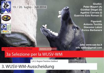 3a Selezione per la WUSV-WM 3. WUSV-WM