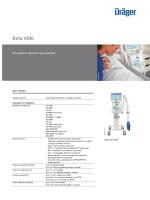 Product information: Dräger Evita V300