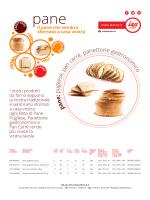 p an e : p u gliese, pan carrè, panettone gastronom ico