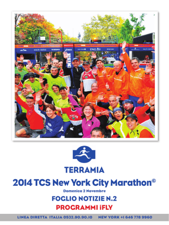 2014 TCS New York City Marathon©
