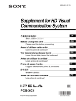 Supplement for HD Visual Communication System