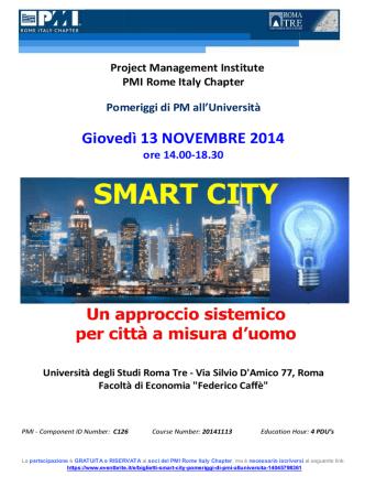 2014-11-13 - Special Event Smart City
