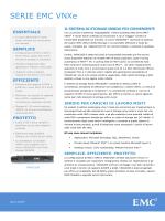 Data sheet: Serie EMC VNXe