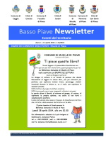 Basso Piave Newsletter