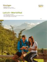 Latsch – Martelltal