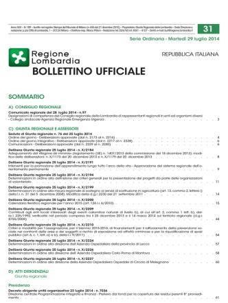 ALLEGATO n.02 COMUNICATO N. 05