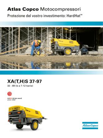 Atlas Copco XA( T,H )S 37-97 HardHat