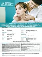 problemi endocrino-metabolici di comune riscontro nella pratica