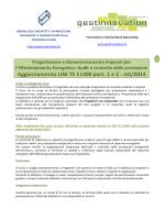 Aggiornamento UNI TS 11300 part. 1 e 2 - ott/2014