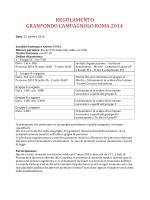 REGOLAMENTO GRANFONDO CAMPAGNOLO