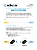 TAGLIO FILI, CON COPPIE DI MODULI Wi-Fi