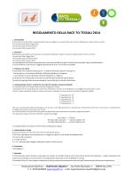 regolamento della race to tessali 2014
