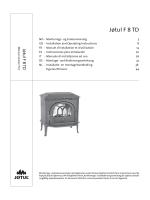 Jøtul F 8 TD - Jøtul stoves and fireplaces