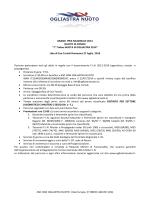 Regolamento Fondo - ASD Ogliastra Nuoto