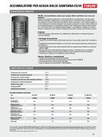 accumulatore per acqua dolce sanitaria fs/1r - HT