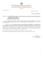 A. A. 2014 2015 – Elenchi dei candidati ammessi Canto barocco