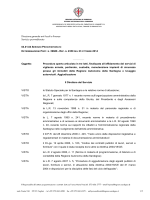EP. N. 2350 ______ Oggetto: Procedura aperta articolata in tre lotti