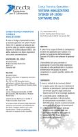 Corso Tecnico-Operativo SISTEMA ANALIZZATORE SYSMEX UF