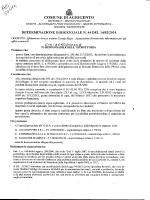 Acquisizione di materiale informatico per gli uffici comunali.