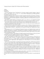 Tribunale di Piacenza 6 giugno 2014