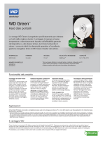 WD Green Mobile Series Spec Sheet