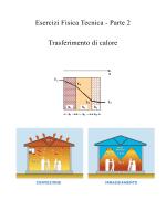 Esercizi Fisica Tecnica - Parte 2 Trasferimento di calore