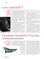 CLEARFIL MAJESTY™ ES Flow Laser a diodi SOLTM
