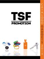 CATAOGO 2014 - TSF Promotion