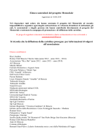 Contributi progetto Memoriale aggiornato al 10.6.2014 ale