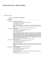 INFORMAZIONI PERSONALI - Centro di Riferimento Oncologico