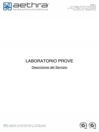A TLC_Laboratorio Prove_Rev2_25032014